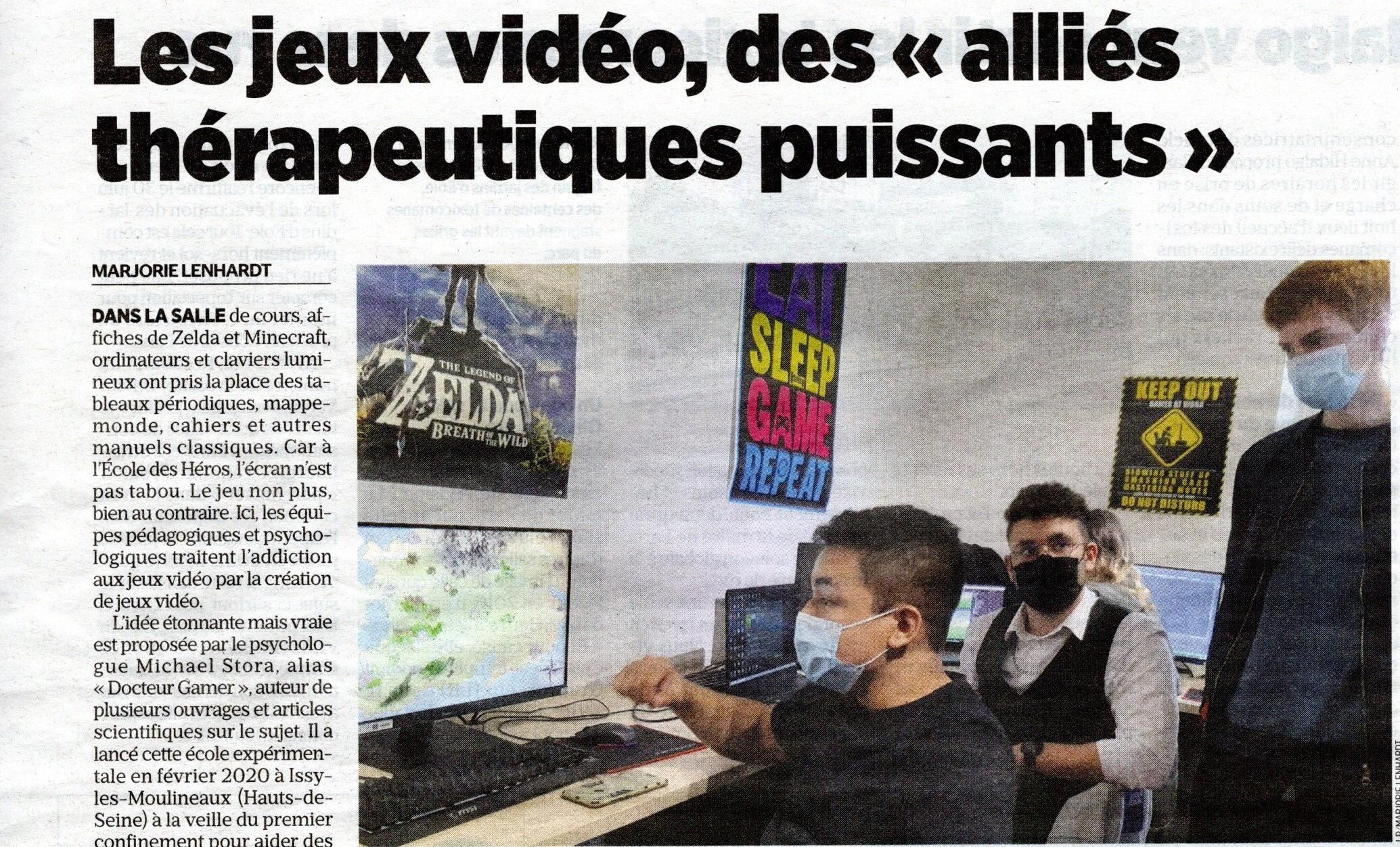 L'Ecole des Héros dans le Grand Parisien Hauts-de-Seine